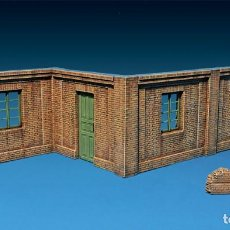 Maquetas: SECTIONS OF BRICK BUILDING. MINIART. 1/35. Lote 213677587