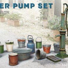 Maquetas: WATER PUMP SET. MINIART. 1/35. Lote 213677721