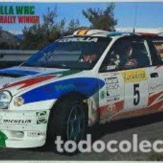 Maquetas: HASEGAWA - TOYOTA COROLLA WRC 1998 MONTECARLO WINNER 1/24 CR24. Lote 213750332