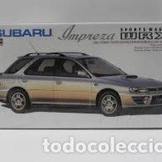 Maquetas: HASEGAWA - SUBARU SPORT WAGON WRX 1/24 CD15. Lote 213750377