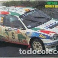 Maquetas: HASEGAWA - TOYOTA COROLLA WRC 1998 N-2 WINNER 1/24 CR123. Lote 213750496