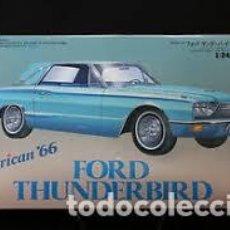 Maquetas: HASEGAWA - FORD THUNDERBIRD 1966 1/24 CB-5. Lote 213750691