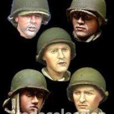 Macchiette: ALPINE - WW2 US INFANTRY HEAD SET H019 1/35. Lote 213830415