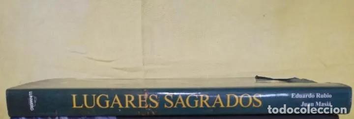 Maquetas: LIBRO GRAN FORMATO, EDICCIÓN LUJO: LUGARES SAGRADOS: EN NOMBRE DE UN DIOS de E. Rubio y J. Maxia - Foto 3 - 213927702
