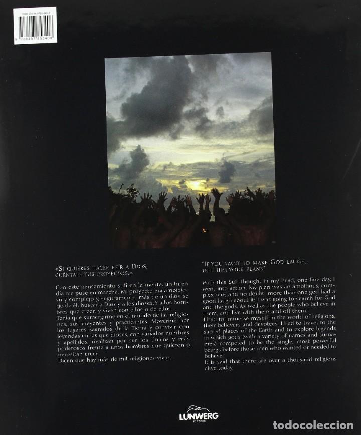 Maquetas: LIBRO GRAN FORMATO, EDICCIÓN LUJO: LUGARES SAGRADOS: EN NOMBRE DE UN DIOS de E. Rubio y J. Maxia - Foto 5 - 213927702