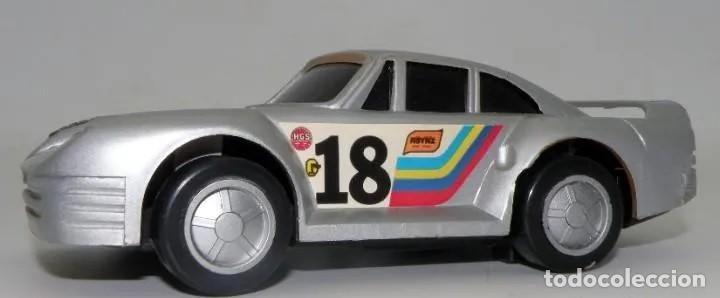 Maquetas: AUTOMÓVIL DEPORTIVO DE CHAPA METÁLICA, GOMA Y PLÁSTICO. AÑOS 1968-1972 - Foto 2 - 213973695
