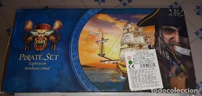Maquetas: Colección de Piratas del Caribe: ENORME BARCO PIRATA, LANCHÓN PIRATA, ISLA, CAÑONES, FIGURAS, ETC. - Foto 6 - 213977217