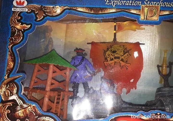 Maquetas: Colección de Piratas del Caribe: ENORME BARCO PIRATA, LANCHÓN PIRATA, ISLA, CAÑONES, FIGURAS, ETC. - Foto 8 - 213977217