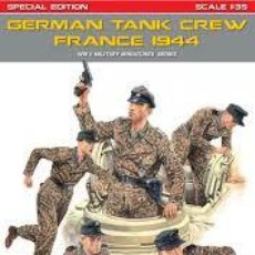 Macchiette: MINIART - GERMAN TANK CREW FRANCE 1944 1/35 35252. Lote 213986902