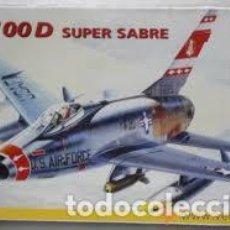 Maquetas: ITALERI - F-100D SUPER SABRE 1/72 098. Lote 214064608