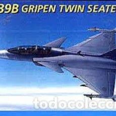 Maquetas: ITALERI - JAS-39B GRIPEN TWIN SEATER 1/72 1216. Lote 214064632
