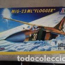 Maquetas: ITALERI - MIG 23 ML FLOGGER 1/72 037. Lote 214064651