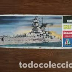 Maquetas: ITALERI GRAFF SPEE ADMIRAL GERMAN 1/720 502. Lote 214064757