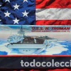 Maquetas: ITALERI - USS H. TRUMAN NUCLEAR AIRCRAFT CARRIER 1/720 528. Lote 214064780