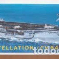 Maquetas: ITALERI - USS CONSTELLACION CV64 1/720 526. Lote 214064788