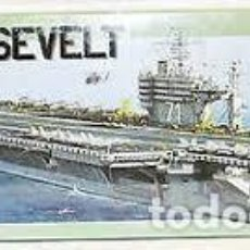 Maquetas: ITALERI - USS ROOSVELT 1/720 5531. Lote 214064818