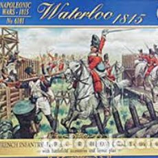 Maquetas: ITALERI - WATERLOO 1815 FRENCH INFANTRY - BRITISH CAVALRY 1/72 6101. Lote 214064855