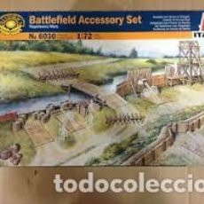 Maquetas: ITALERI - BATTLEFIELD ACCESORIES SET 1/72 6030. Lote 214064941