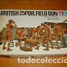 Maquetas: TAMIYA - BRITISH 25 PDR FIELD GUN 1/35 3546. Lote 214065160