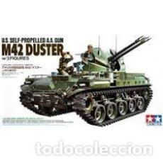 Maquetas: TAMIYA - M42D DUSTER + FOTOGRABADO EDUARD 1/35 35161. Lote 214065183