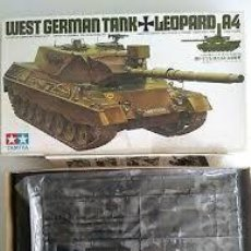 Maquetas: TAMIYA - LEOPARD A4 WEST GERMAN TANK MM212 1/35. Lote 214065191