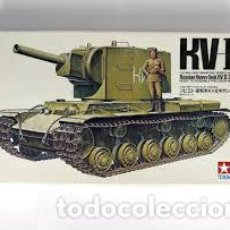 Maquetas: TAMIYA - KV-II GIGANT 1/35 MM163. Lote 214065203
