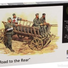 Maquetas: ROAD TO THE REAR. MASTERBOX. 1/35. Lote 214090845