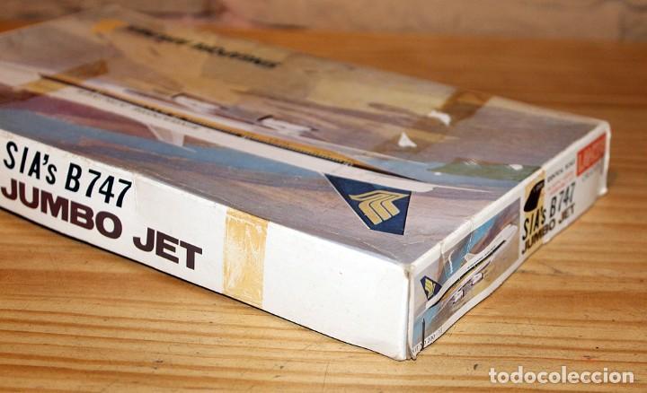 Maquetas: ANTIGUA MAQUETA JUMBO B747 DE SINGAPORE AIRLINES - NUEVA Y PRECINTADA - MADE IN JAPAN - LANDEX - Foto 7 - 214107647
