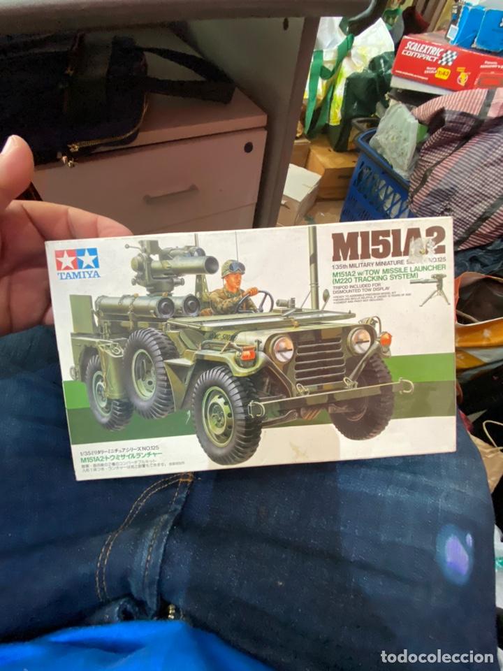 TAMIYA MI5IA2 1:35 SCALE MILITARY MINIATURE SERIES #125 W/ TOW MISSI…VER FOTOS (Juguetes - Modelismo y Radiocontrol - Maquetas - Militar)
