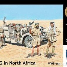 Maquetas: LONG RANGE DESERT GROUP EN EL NORTE DE ÁFRICA. MASTERBOX. 1/35. Lote 214155835