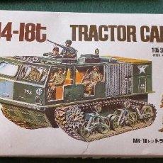Maquetas: TRACTOR CARGO M 4 18T. ESCALA 1/35. BLUE TANK. + 7 SOLDADOS U.S. ARMY. NUEVO SIN ESTRENAR. Lote 214176366