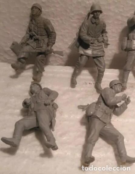 Maquetas: Lote 7 soldados alemanes 1/35 para dioramas - Foto 2 - 214229418