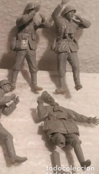 Maquetas: Lote 7 soldados alemanes 1/35 para dioramas - Foto 3 - 214229418