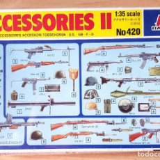Maquetas: ITALERI - ACCESORIES II ESC, 1/35 NO 420. Lote 214428512