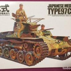Maquettes: JAPANESE TANK TYPE 97 CHI-HA 1:35 TAMIYA MAQUETA CARRO TANQUE. Lote 214432551