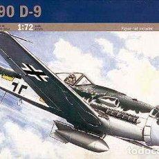 Maquetas: MAQUETA DEL CAZA ALEMÁN FOCKE WULF FW 190D-9 DORA DE ITALERI A 1/72. Lote 214447721