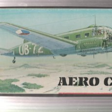 Maquetas: MAQUETA DE AVION- AERO C-3A-ESCALA 1/72. Lote 214474786