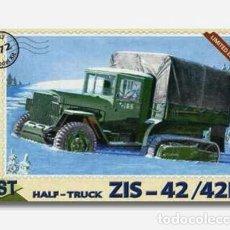 Maquetas: PST 72032 ZIS-42 / 42M HALF-TRUCK 1/72. Lote 215387500