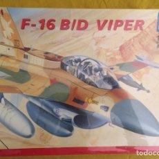 Maquetas: F-16 B/D VIPER 1:48 ITALERI 848 MAQUETA AVIÓN ISRAEL NORUEGA USA. Lote 215438055
