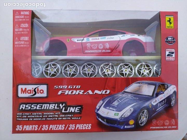 FERRARI FIORANO 599 GTB. ESCALA 1:24 (Juguetes - Modelismo y Radiocontrol - Maquetas - Coches y Motos)