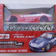 Maquetas: FERRARI FIORANO 599 GTB. ESCALA 1:24. Lote 215444551