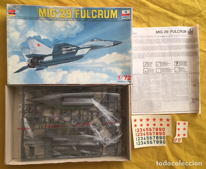 Maquetas: MIG-29 FULCRUM 1:72 ESCI 9058 maqueta avion - Foto 2 - 176468665