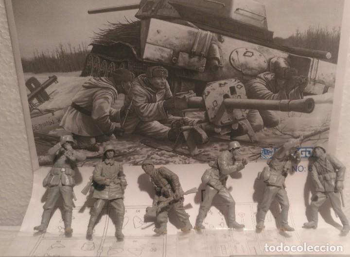 """Maquetas: Cañón anticarro """"Puppchen"""" y dotación alemana 1/35 para diorama - Foto 2 - 215848301"""