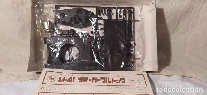 Maquetas: Tanque M41 Walker Bulldog de otaKi motorizado.escala 1/42. años 70. nuevo a estrenar - Foto 2 - 216391721