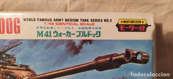 Maquetas: Tanque M41 Walker Bulldog de otaKi motorizado.escala 1/42. años 70. nuevo a estrenar - Foto 6 - 216391721