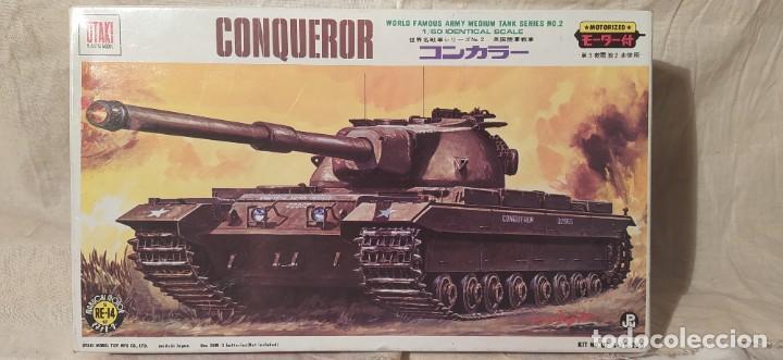 TANQUE CONQUEROR DE OTAKI MOTORIZADO.ESCALA 1/60. AÑOS 70. NUEVO A ESTRENAR (Juguetes - Modelismo y Radiocontrol - Maquetas - Militar)