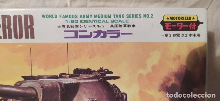 Maquetas: Tanque Conqueror de otaKi motorizado.escala 1/60. años 70. nuevo a estrenar - Foto 2 - 216392040