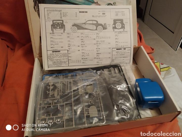 Maquetas: Antigua maqueta Heller bugatti t.50 escala 1/24 nueva - Foto 2 - 216397311