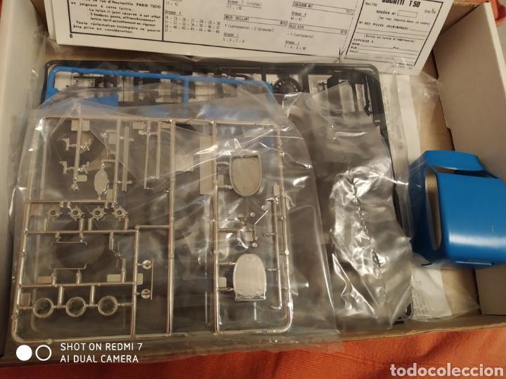 Maquetas: Antigua maqueta Heller bugatti t.50 escala 1/24 nueva - Foto 3 - 216397311