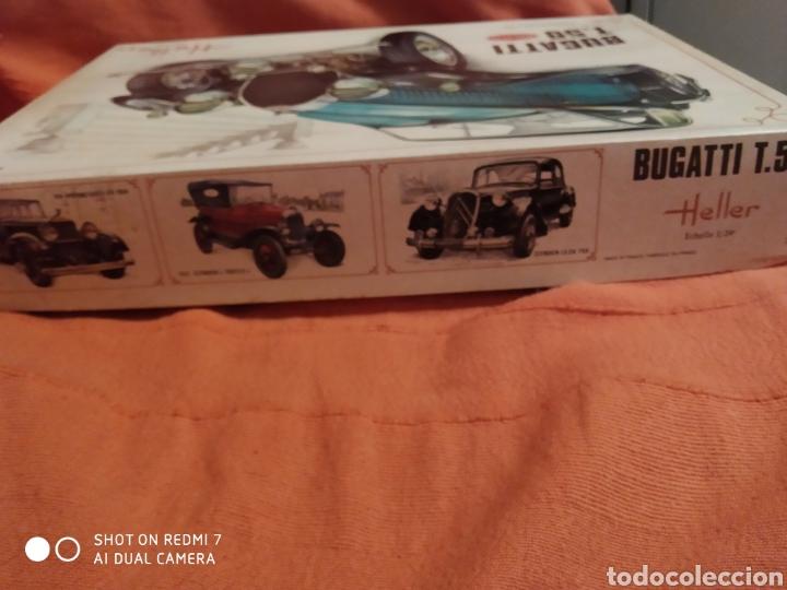 Maquetas: Antigua maqueta Heller bugatti t.50 escala 1/24 nueva - Foto 5 - 216397311